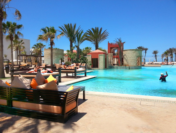 Poolbereich im Sofitel Agadir Royal Bay Resort